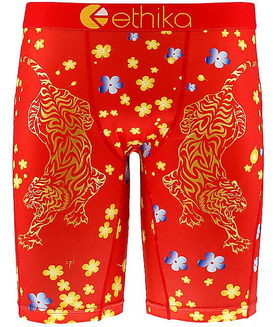 Ethika Muay Ti Red Boxer Briefs