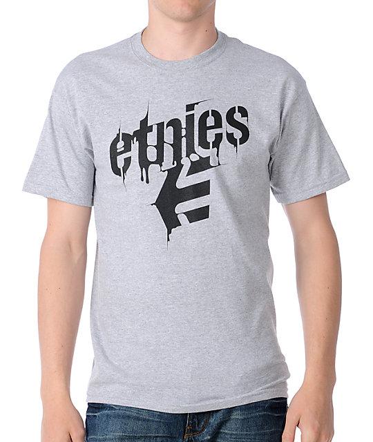 Etnies Bamm Grey T-Shirt