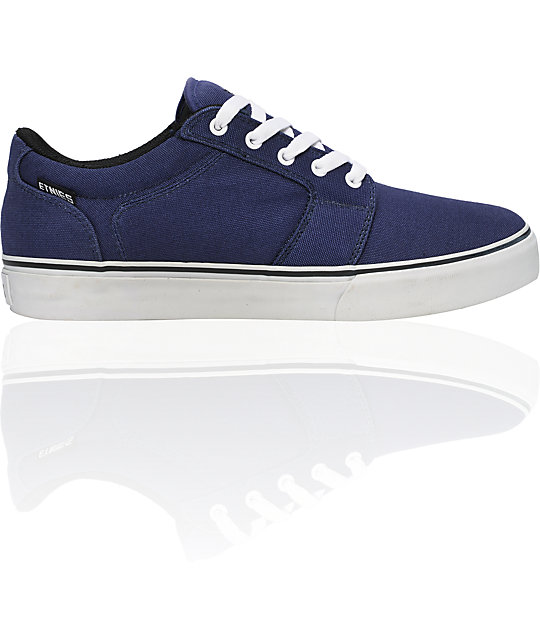 Etnies Barge Navy & Grey Shoes