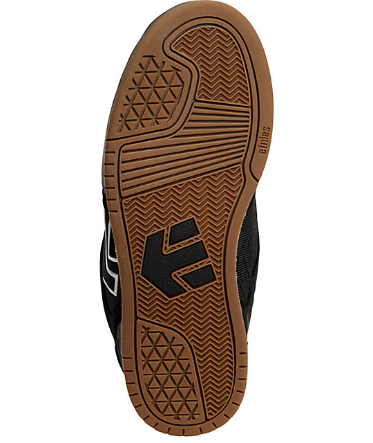Etnies Charter Black & Gum Shoes