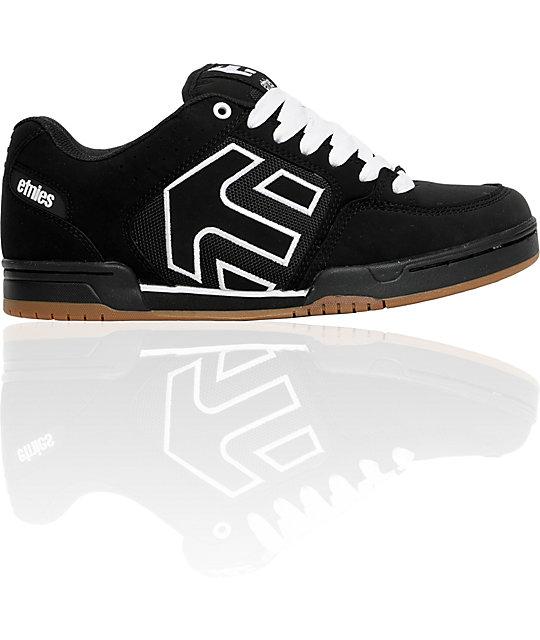 Etnies Charter Black & Gum Shoes