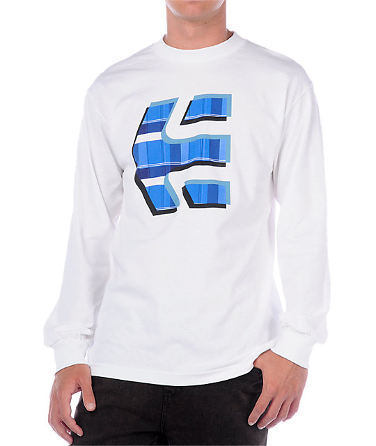 Etnies Crossover White Long Sleeve T-Shirt