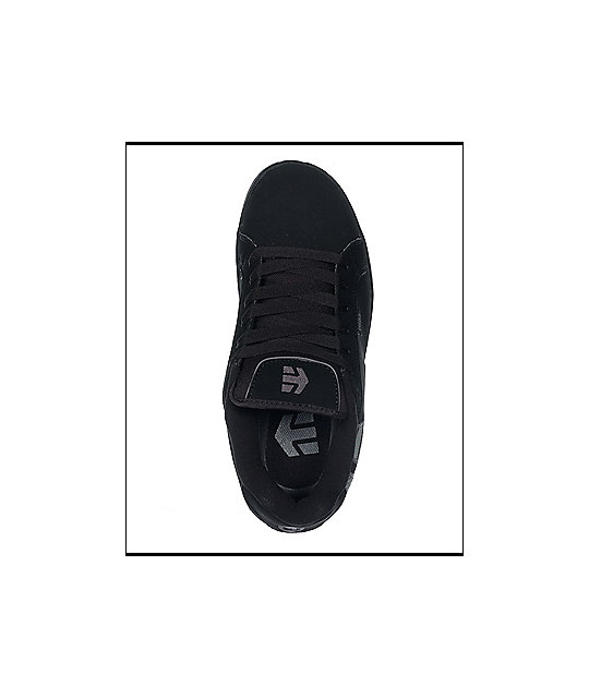 Etnies Fader Black & Plaid Shoes
