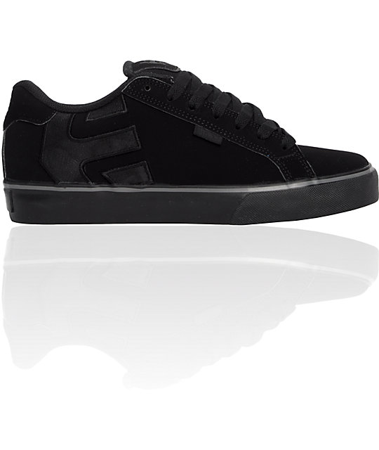 Etnies Fader Vulc Black Shoes