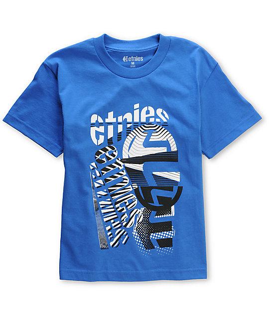 Etnies Frontline Blue Boys T-Shirt
