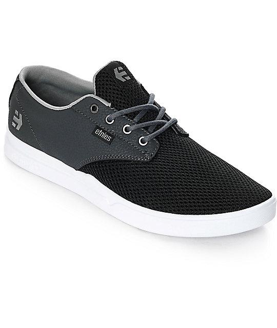 Etnies Jameson SC Black, Charcoal & White Shoes