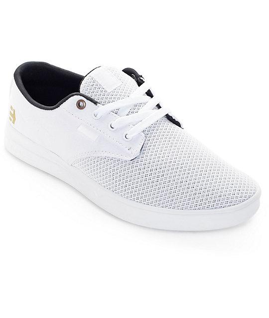 Etnies Jameson SC White & White Shoes