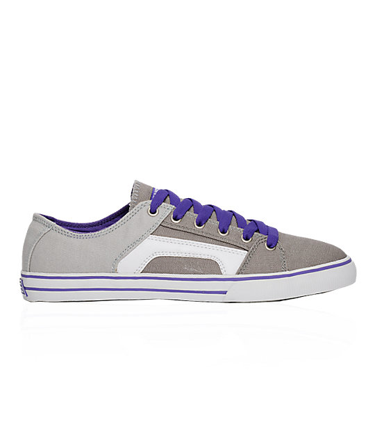 Etnies RSS Grey & Purple Shoes