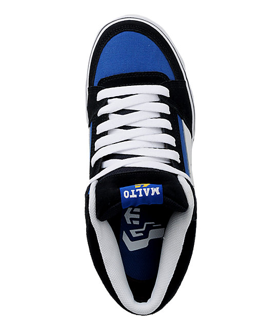 Etnies RVM Malto Navy, Blue & White Shoes