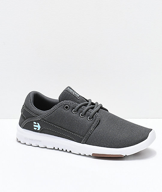 Etnies Scout Grey Chambray Womens Shoes