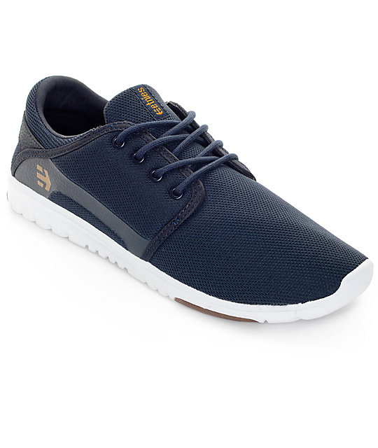 Etnies Scout Navy, White & Gum Shoes