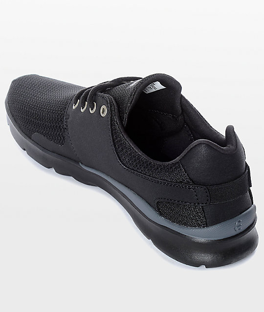 Etnies Scout XT Black & Silver Shoes