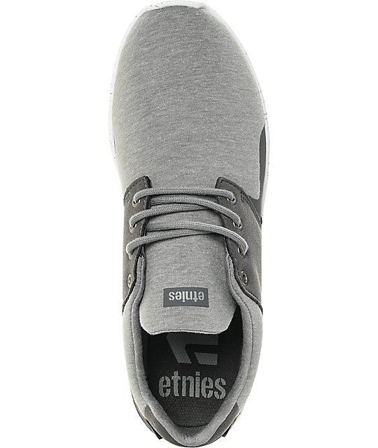 Etnies Scout XT Grey & White Jersey Shoes