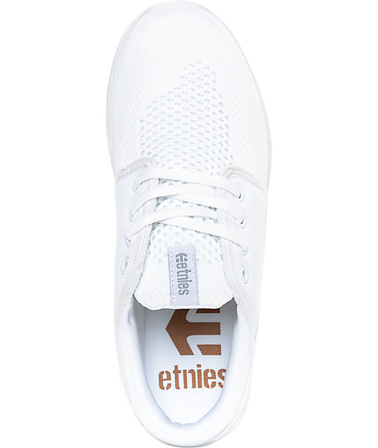 Etnies Scout Yarn Bomb White Shoes