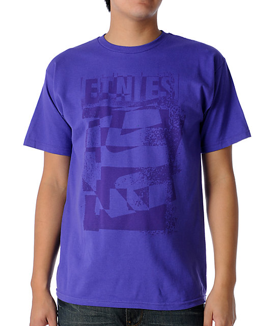 Etnies Westbound Purple T-Shirt