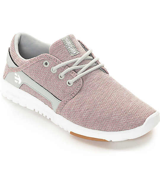 Etnies Women's Scout Coco Ho Pink, White & Grey Shoes at Zumiez : PDP