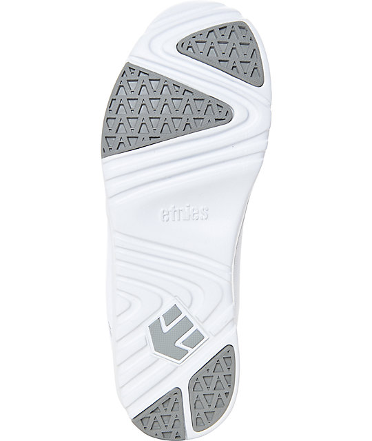 Etnies Women's Scout White Print Shoes
