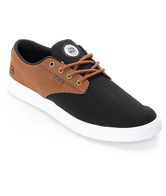 Etnies x Element Jameson SC Black & Tan Shoes