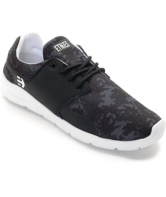 Etnies x Grizzly Scout XT Black & White Shoes