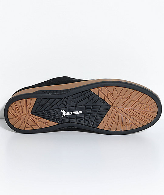 Etnies x Michelin Marana Joslin Black & Gum Skate Shoes