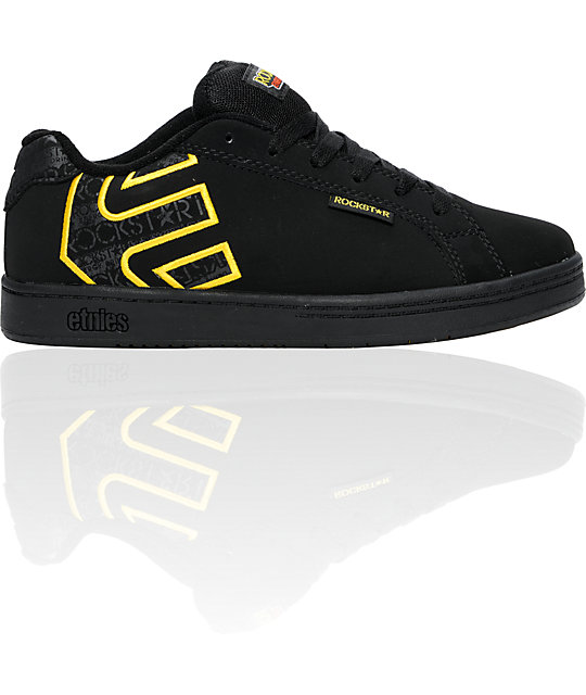 Etnies x Rockstar Fader Black Boys Shoes