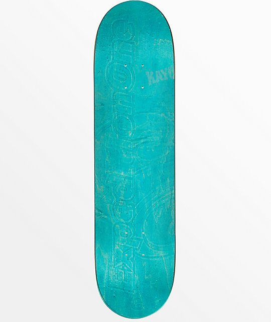"""Expedition One Blank Embossed 7.9"""" Skateboard Deck"""