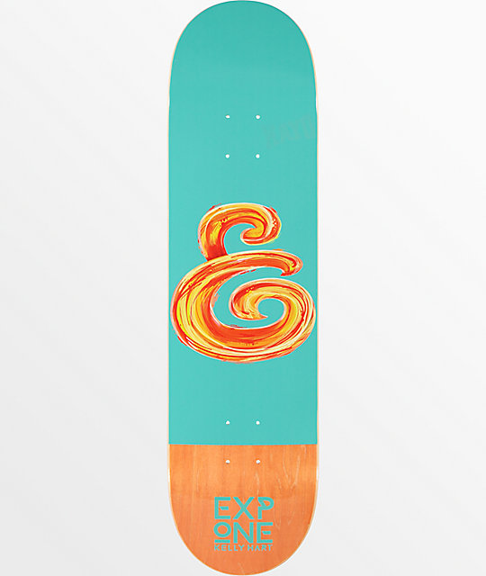 """Expedition One Kelly Hart Abstract 8.25"""" Skateboard Deck"""