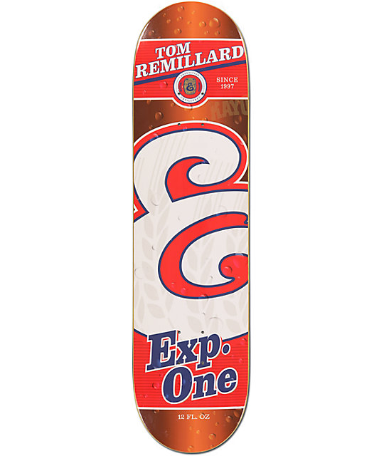"Expedition One Remillard Beverage 8.125""  Skateboard Deck"