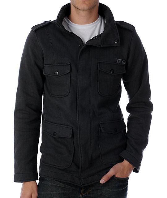 Ezekiel Kendrick Black Fleece Jacket