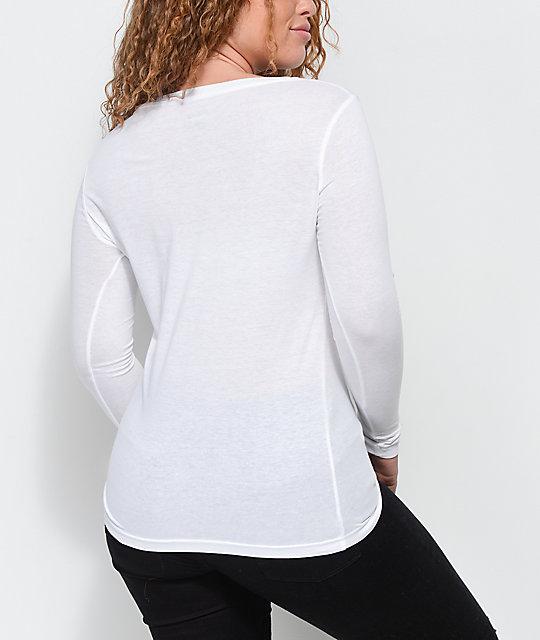 fila long sleeve t shirt. fila double stripe white long sleeve t-shirt fila t shirt