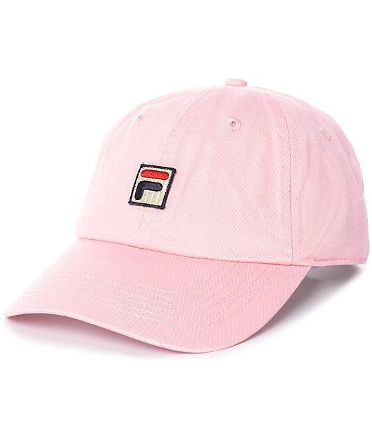 fila pink baseball hat zumiez