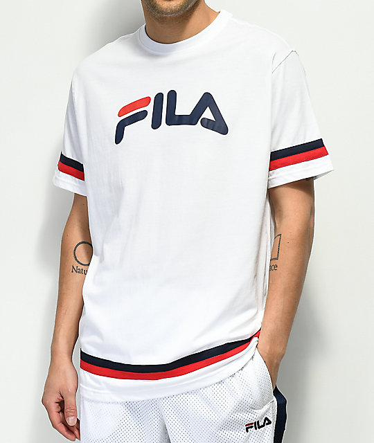 Fila Riley White T Shirt by Fila