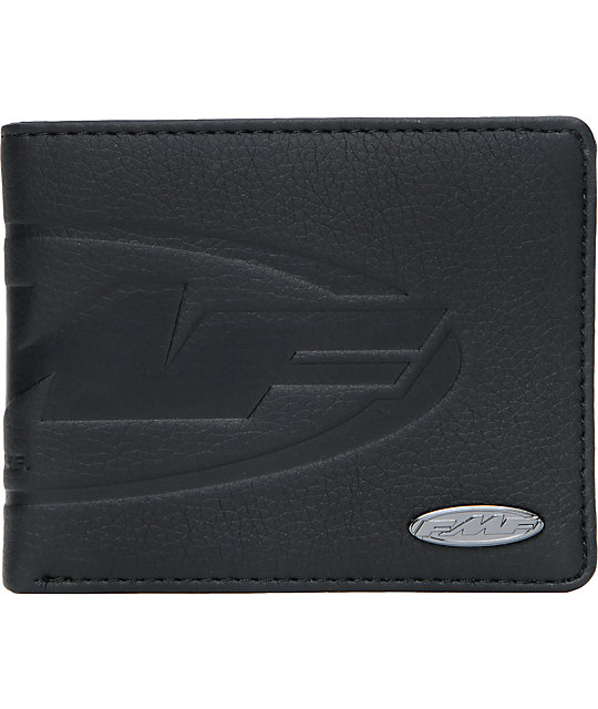 FMF Debossed Black Bifold Wallet