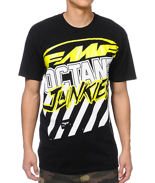 FMF High Octane Black T-Shirt