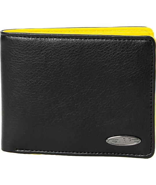 FMF Interior Black & Yellow Bifold Wallet