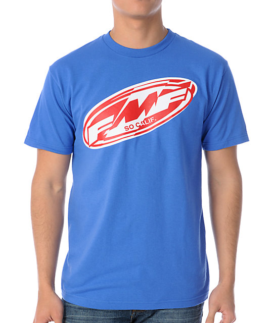 FMF Splits Blue T-Shirt