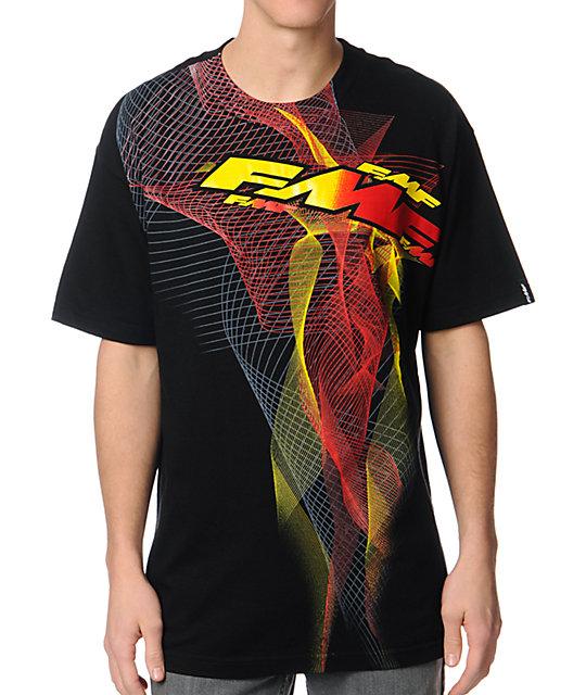 FMF Velocity Black & Red T-Shirt
