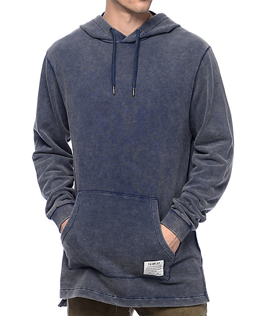 Fairplay Elsey Snow Washed Navy Hoodie