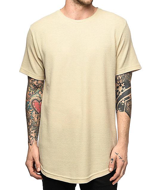 Fairplay Rian Khaki Thermal T-Shirt