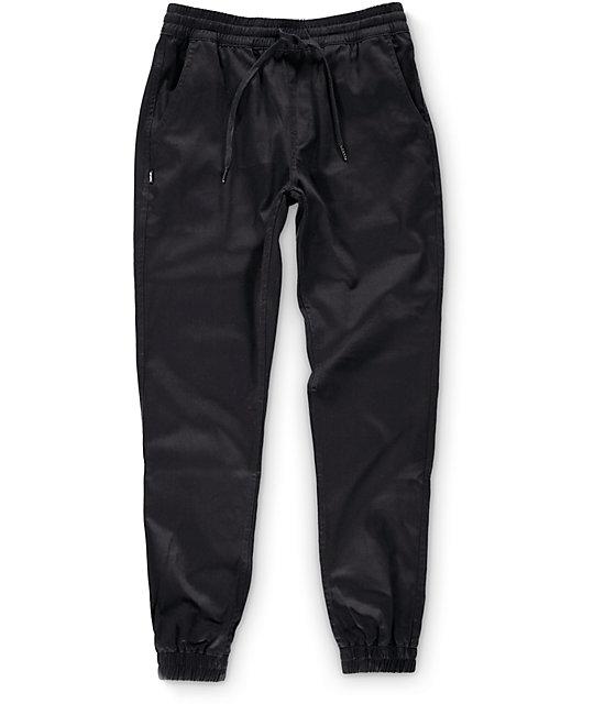 Runner Black Jogger Pants
