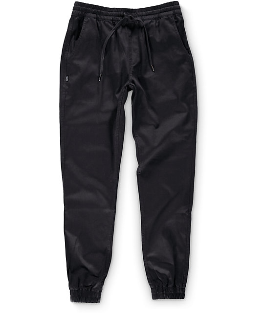 Innovative Empyre Sylvie Exposed Zipper Black Speckle Jogger Pants
