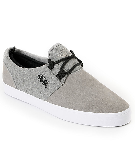 Fallen Capital Grey Skate Shoes