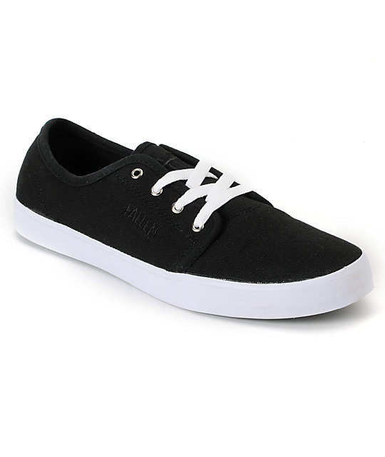 Fallen Daze Black Skate Shoes
