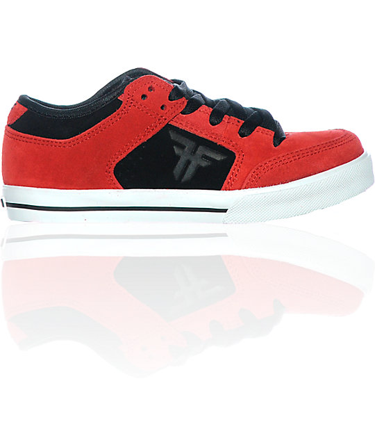 Fallen Shoes Boys Ripper Red & Black Skate Shoes at Zumiez : PDP
