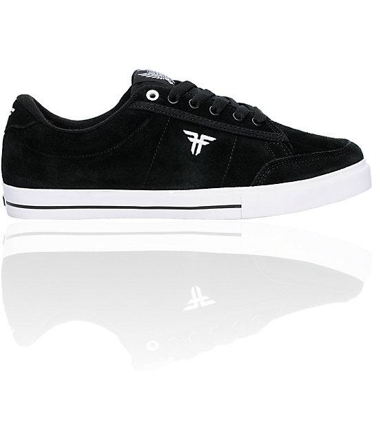 Fallen Shoes Jamie Thomas Bomber II Black & White Skate Shoes