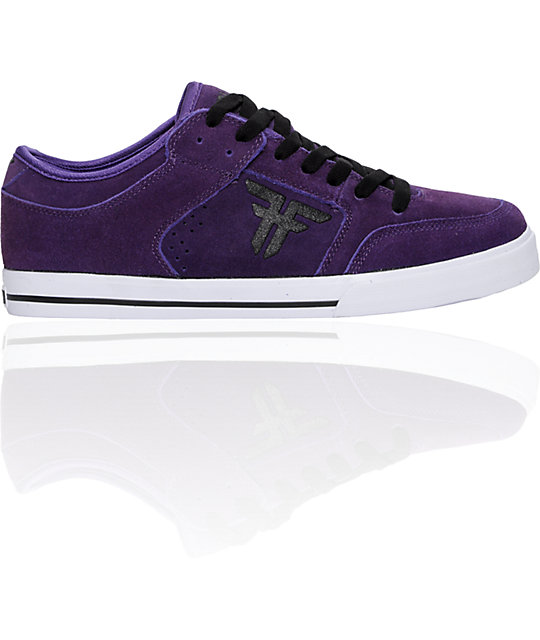 Fallen Shoes Ripper Purple & Black Skate Shoes