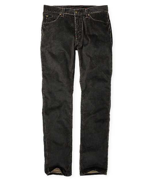 Fallen Thomas Signature Cord 2 Tone Black Pants