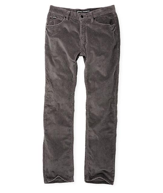 Fallen Thomas Signature Cord Dark Grey Pants