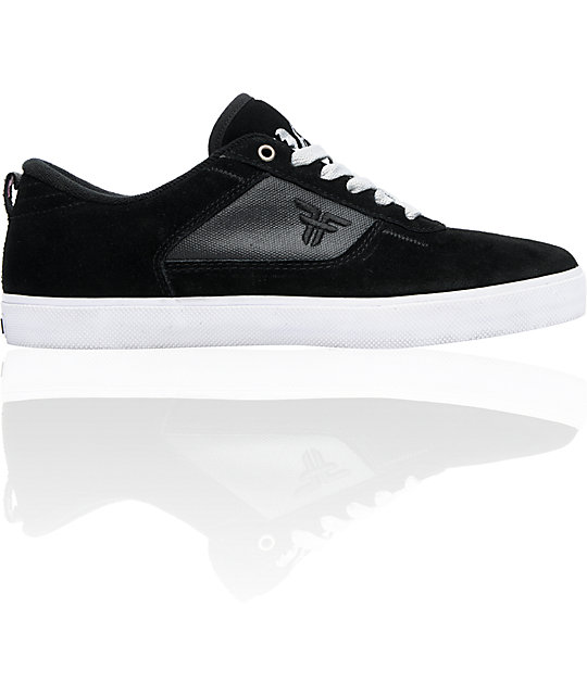 Fallen x Mystery Rookie Black, Silver & Pink Gaga Skate Shoes
