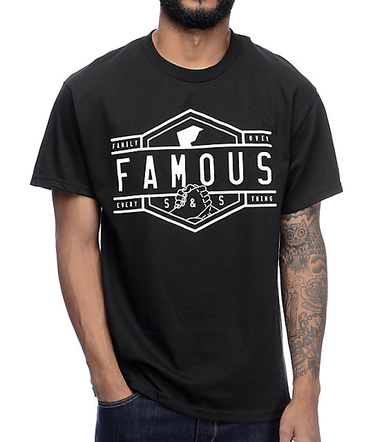 Famous Fam Every Black T-Shirt
